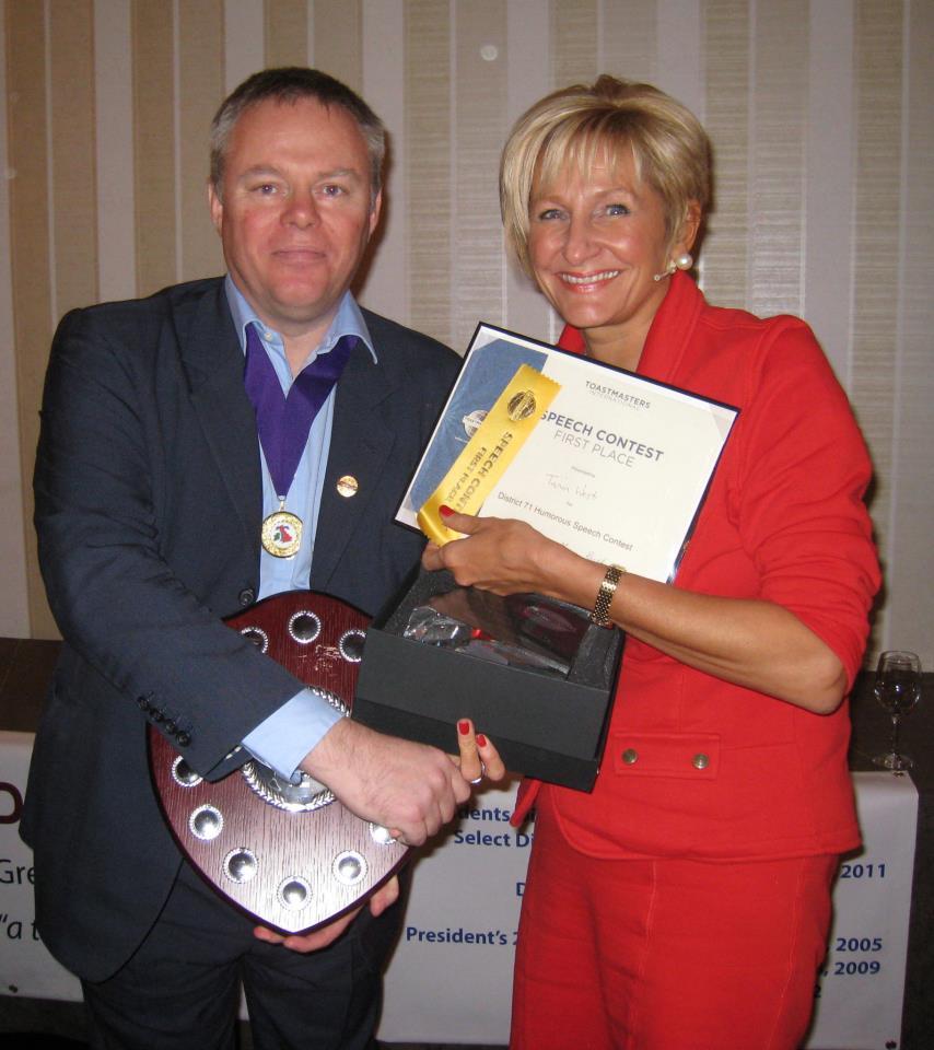 Tania West Toastmaster winner 2012