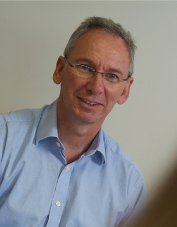 David Thomas, Managing Director of Bluegrass Computer Services, Exeter
